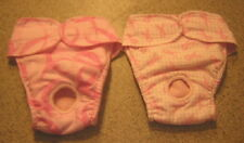 BREAST CANCER PINK PANTY ITALIAN GREYHOUND XOLO CHINESE CRESTED 2 DOG DIAPER