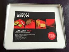 Joseph Joseph New Small Cut and Carve Chopping Board White RRP £15