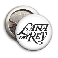 Lana Del Rey - Logo White - Button Badge - 25mm 1 inch