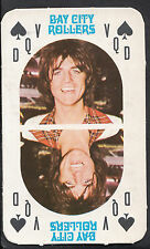 Monty Gum 1970's Gum Card - The Bay City Rollers Music Card - Queen of Spades