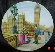Davenport Collectors Plate THE STRAWBERRY SELLER