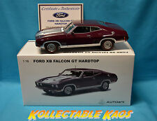 1:18 Biante - 1974 Ford XB Falcon GT Hardtop - Mulberry Metallic  NEW IN BOX