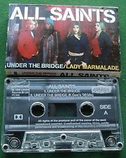 All Saints Under the Bridge / Lady Marmalade Cassette Tape Single - TESTED