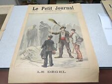 LE PETIT JOURNAL SUPPLEMENT ILLUSTRE N 116 1893 LE DEGEL