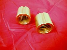 BRIDGEPORT MILL PART, J HEAD MILLING MACHINE LONGITUDINAL FEED NUT 2PC M1069-2