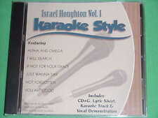 Israel Houghton~#1~Christian~Daywind~Karaoke Style ~ Alpha and Omega ~ CD+G~New