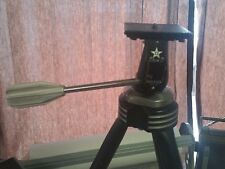 DAVIDSON STAR D CONQUEST VINTAGE CAMERA TRIPOD RETRO 24-58""