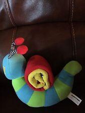 Neurosmith Mamas & Papas Soft Plush Caterpillar Roll up  Activity Toy
