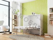 schrankbetten mit matratze ebay. Black Bedroom Furniture Sets. Home Design Ideas