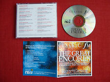 The Great Encores - Classic FM, Music Collection No. 128, inc Liszt, Chopin & ..