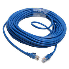 12M CAT5E CAT5 RJ45 Ethernet Internet Network Patch Lan Cable Cord Blue M/M
