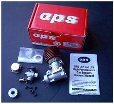 Vintage RC Car OPS .15 OPS81565R Pro SE Side Exhaust Engine New Incomplete Parts