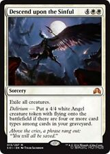 DESCEND UPON THE SINFUL Shadows over Innistrad MTG White Sorcery Mythic Rare