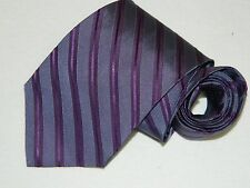 Men's Brook Brothers Striped Purple Neck tie Made in USA