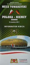 Fan Info LS 6.9.2011 Polen Polska - Deutschland