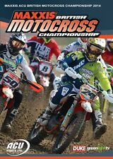 Maxxis ACU British Motocross Championship - Official review 2014 (New DVD) MX