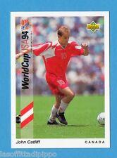 Figurina/CARDS-UPPER DECK 93 -WC USA 94- n.37- CATLIFF - CANADA
