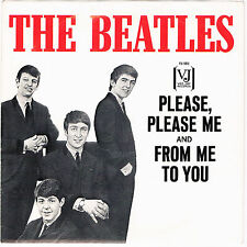 "BEATLES ""PLEASE PLEASE ME / FROM ME TO YOU"" PS & SP VEE-JAY 581 PURPLE LABEL!"