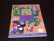 Super Mario All-Stars Strategy Guide Book Super Nintendo Snes