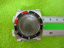 VINTAGE OLD STOCK WATCH CASE BEZEL NEW UNUSED DIVER STYLE ETA SEAMASTER PEPSI B4