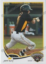 2016 Bradenton Marauders Jeff Roy RC Rookie Pittsburgh Pirates