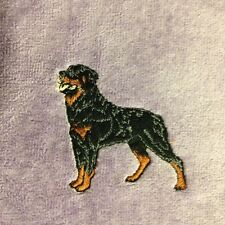 Rottweiler Towel, Embroidered, Custom, Personalized, Dog, Rottie