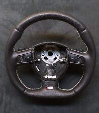 FLAT BOTTOM STEERING WHEEL AUDI A3/S3 A4/S4 A5/S5 A6/S6 Q7 ! R8 STYLE