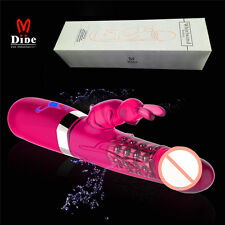 6-Speed Luxe Collection Rotating Vibrating  - Waterproof-Red color-BEST GIFT