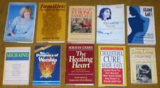 Lot of 10 Non-Fiction Books - Self-Improvement, Health, Healing, Family, etc...