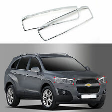 Chrome Headlight Lamp Molding Trim Cover for 11+ Chevrolet Captiva
