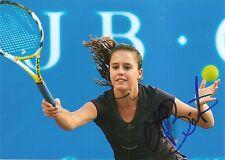 Michelle Larcher De Brito Portugal Tennis 5x7 PHOTO Signed Auto