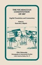 Nicaraguan Constitution Of 1987: English Translation and Commentary (Ohio RIS La