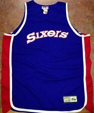 Nba hardwood classics philadelphia 76ers throwback basketball jersey size xl