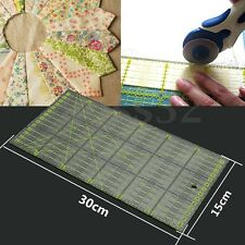 "11.8"" x 5.9"" 30cm Clear Acrylic Quilting Rulers Patchwork Sewing Tool DIY Crafts"