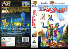 The Magic Sword Quest For Camelot - Video Promo Sample Sleeve/Cover #16596