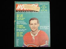 March 1967 Hockey Pictorial Magazine - Bobby Rousseau Cover
