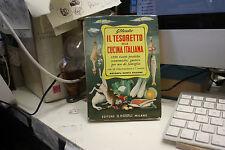 RICETTARIO HOEPLI IL TESORETTO DELLA CUCINA ITALIANA - ANNO 1976 - Oberosler