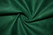 Emerald Microfiber Microsuede Suede Upholstery 100% Polyester Fabric BTY