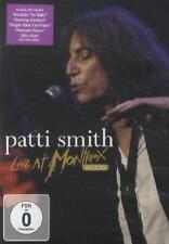 Patti Smith-Live at Montreux 2005 (DVD) NUOVO/SEALED!!!