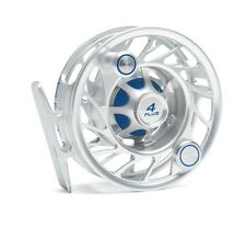 Hatch 4 Plus Finatic Reel with Case NEW in Box ~ Mid Arbor ~ Clear / Blue