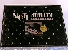 Noteability Board Game Name The Song Baby Grand Electronic Piano 1990