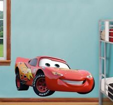 DISNEY CARS MCQUEEN  EXTRA LARGE WALL  STICKER NURSERY/BOYS/ ROOM