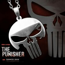 Collana Ciondolo Teschio The Punisher Punitore American Sniper Harley Davidson