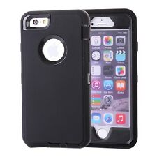 iPhone 6 Hülle Tasche Cover Case Outdoor schwarz Staubdicht