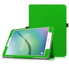 Slim Leather Wallet Stand Case Cover for Samsung Galaxy Tab S2 9.7 Inch Tablet