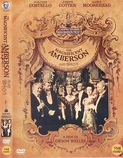 The Magnificent Ambersons (1942, Orson Welles) DVD NEW