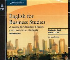 Cambridge Professional ENGLISH FOR BUSINESS STUDIES Third Edition AUDIO CDs @New