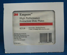 3M Empore 96 Deep Well Extraction Disk Plate Octyl C8 SD  2.5mL SPE 6314