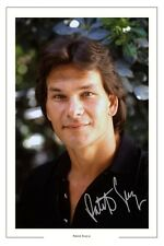 PATRICK SWAYZE SIGNED PHOTO PRINT AUTOGRAPH GHOST POINT BREAK ROADHOUSE