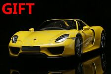 Car Model Minichamps Porsche 918 Spyder 2013 1:18 (Yellow) + SMALL GIFT!!!!!!